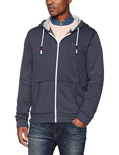 uomo nero zip Iris con con Felpa cappuccio Jeans cappuccio da Tommy originale e blu 002 qO7XwRAx