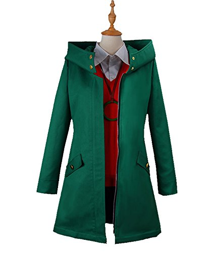 Wish Costume Shop Mahoutsukai No Yome Chise Hatori Cosplay Costumes Full Set (Custom Made, Navy Green)