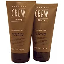 American Crew Moisturizing Shave Cream 5.1 Ounce(Pack of 2)