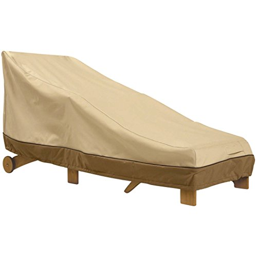 Patio Chaise Lounge Cover,Veranda Day Chaise Cover, Waterproof Dust Cover ,All Weather Protection Outdoor Furniture Cover 66.1 x 35.4 x 33inch(Large)