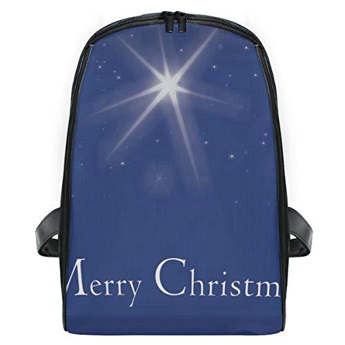 Christmas Star School Backpack for Boys Kids Preschool School Bag Toddler Bookbag