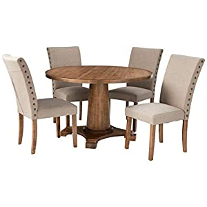 41-dLBtPeuL._SS300_ Coastal Dining Room Furniture & Beach Dining Furniture