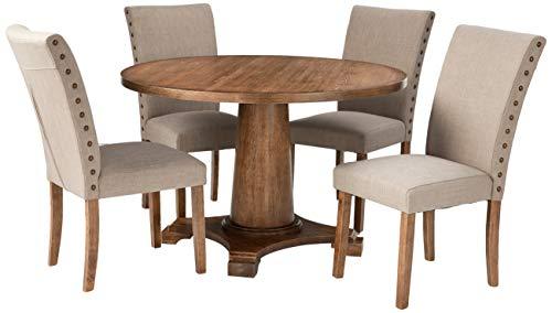 Best Master Furniture 5 Pcs Dining Set (Round Sets Dining)