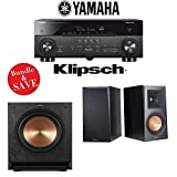 Yamaha RX-A780 AVENTAGE 7.2-Channel AV Receiver + Klipsch RP-500M + Klipsch SPL-100-2.1-Ch Home Theater Package