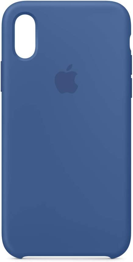 Apple Silicone Case (for iPhone Xs) - Delft Blue