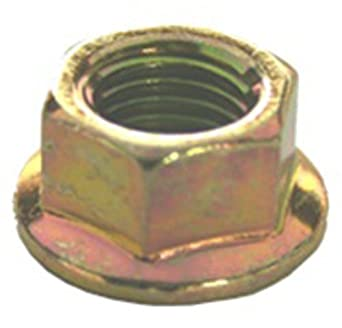 50 Hex Flange Nuts M10-1.25 Thread 19mm Flange O.D.