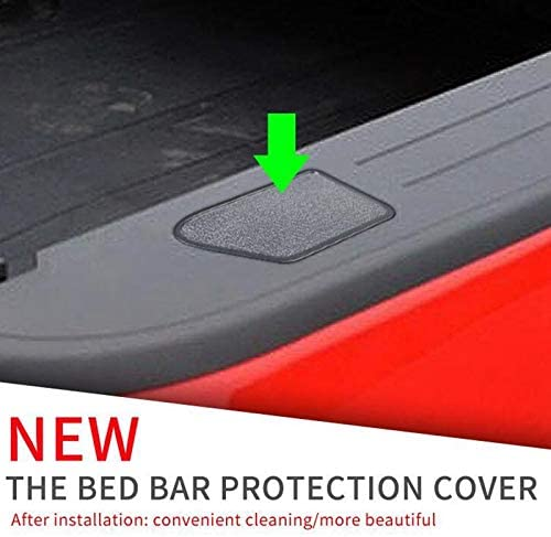 Bed Rail Stake Pocket Covers,Tonneau Cover Rails Cover for 2014-2018 Silverado Sierra