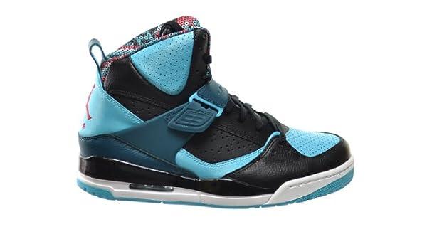 separation shoes 387ef da719 Jordan Flight 45 High Men s Basketball Shoes Black Gym Red-Dark Sea-Gamma  Blue 616816-013 (10 D(M) US)  Amazon.ca  Shoes   Handbags