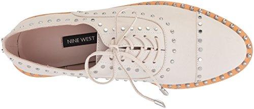 Nine West Womens Garroy Nubuck Oxford Platt Benvit Nubuck