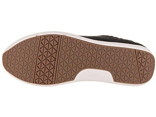 Cabrillo Weave Black Women's Heritage Shoe Casual Canvas TOMS Basket p6Sqwx