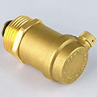 TOOGOO V/áLvula de Escape Autom/áTica Forjada de Lat/óN DN20 para Calentador de Agua Solar V/áLvula de Escape V/áLvula de Alivio V/áLvula de Escape