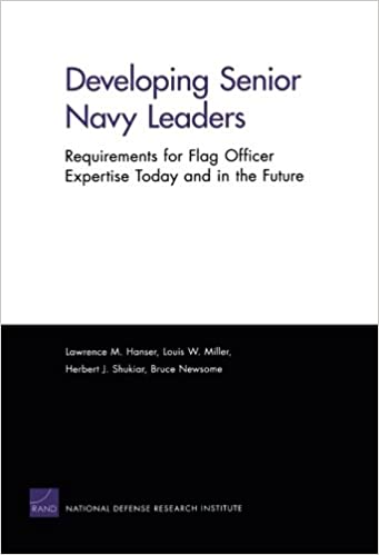 Amazon com: Developing Senior Navy Leaders: Requirements for
