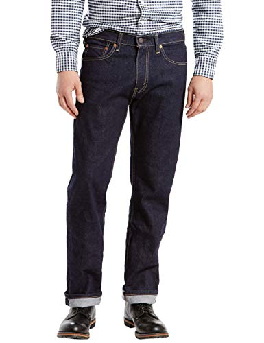 Levi's Men's 505 Regular Fit Jean, Rinse - Stretch, 38 ()