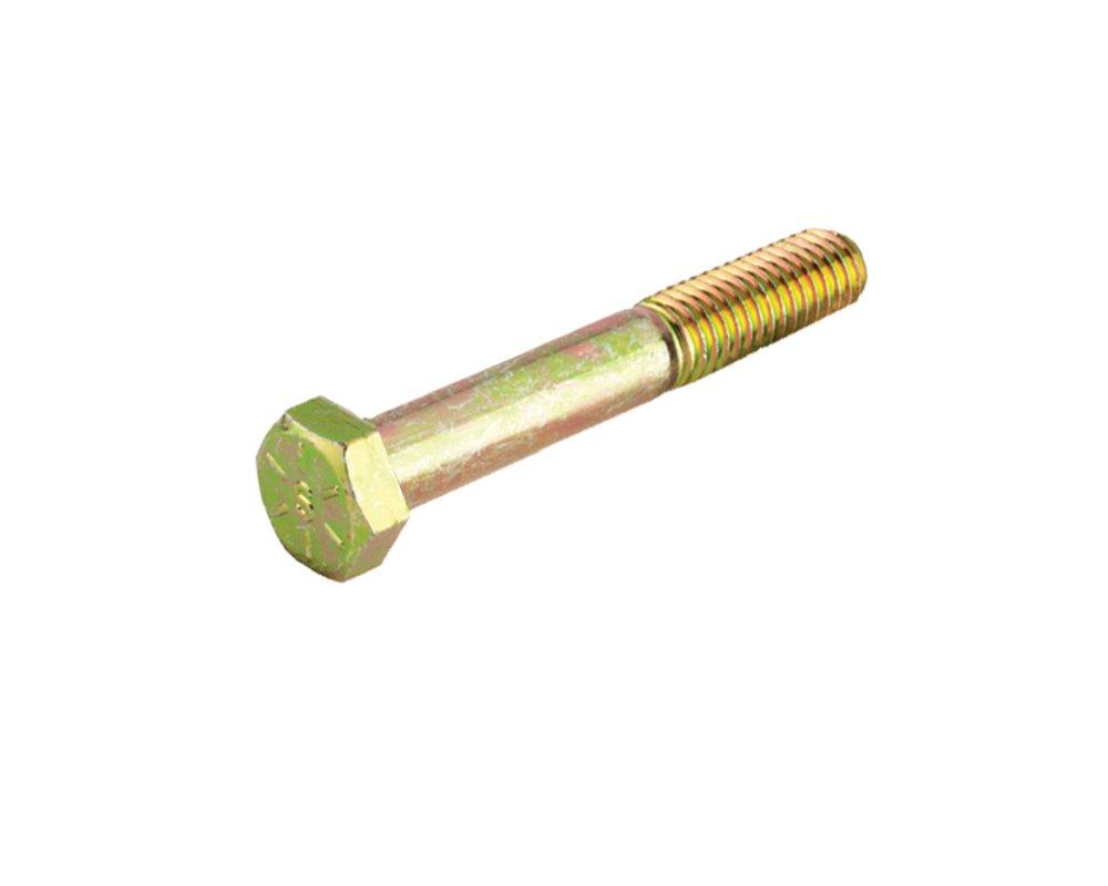 15-Count Crown Bolt 12390 7//16 Inch-14 x 2 Inch Yellow Zinc-Plated Coarse Thread Grade 8 Cap Screws