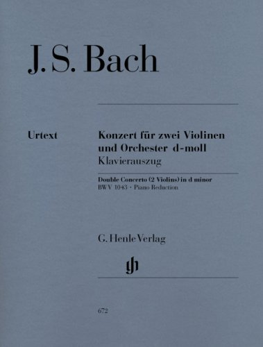 Bach: Concerto for 2 Violins in D Minor, BWV (Bach Concerto For Two Violins)