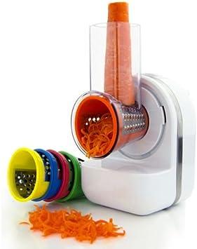 Sirge DIETALIGHT Robot de postre 3 en 1 Dietético multifunción trituradora de verduras y exprimidor y máquina de postre helado sorbetto con 5 cuchillas. Heladera – Picadora – Exprimidor: Amazon.es: Hogar