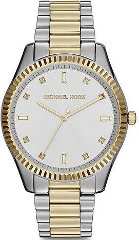 (Michael Kors Women's Two-Tone Blake Glitz Dial Watch MK3421)