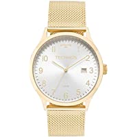 Relógio Technos Feminino Ref: 2115mnk/4k Casual Dourado