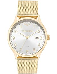 Relógio Technos Feminino Ref  2115mnk 4k Casual Dourado 5586b94727