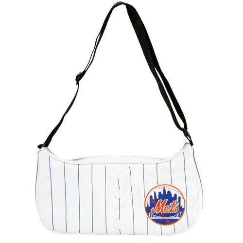 MLB New York Mets White Pinstripe Baseball Jersey Purse