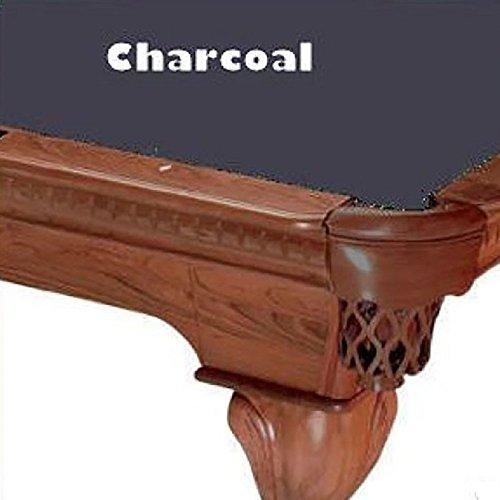 7' Charcoal ProLine Classic 303 Billiard Pool Table Cloth Felt Charcoal Pool Table Felt