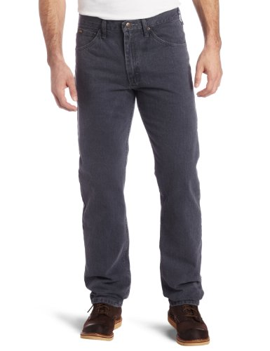 Lee Men's Regular Fit Straight Leg Jean, Thunder, 36W x 32L