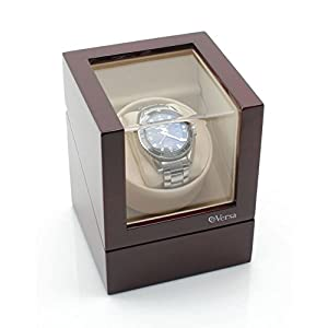 Versa Elite Single Watch Winder in Cherrywood
