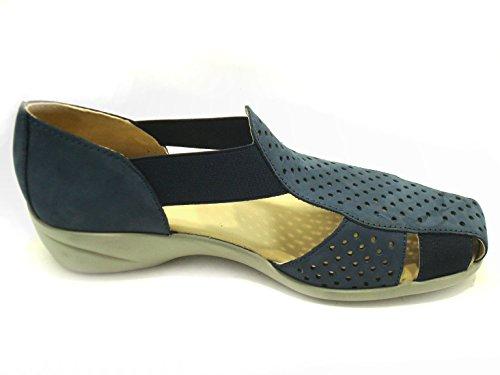 GRÜNLAND - Sandalias de vestir de Piel para mujer turquesa