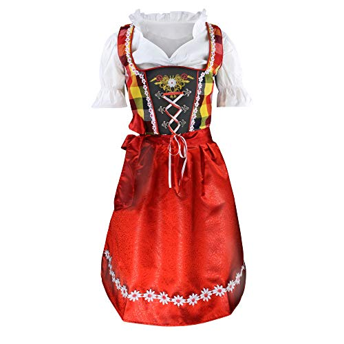 German Girl Costume Child (3pcs Children Dirndl)