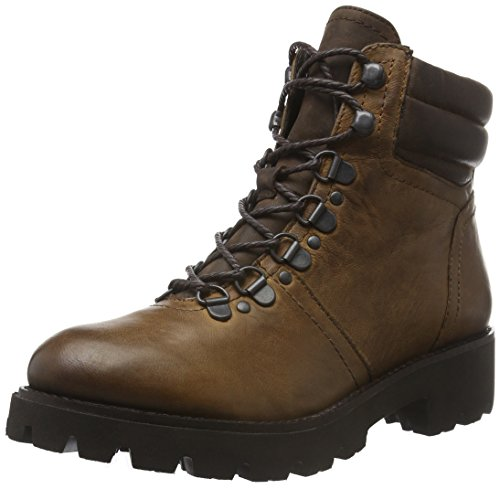 SPM Atlas Ankle Boot, Zapatillas De Estar por Casa para Mujer Braun (Dk Cuoio 008/Dk Brown 008)