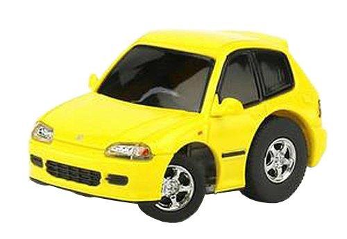 TinyQ Honda Civic EG6 1992-1995 yellow finished product