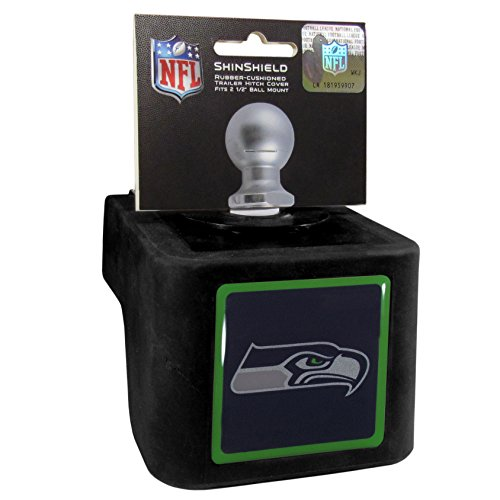 Seahawks Trailer Hitch - Seattle Seahawks Shin Shield Hitch Cover