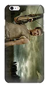 Custom unique Popular The Walking Dead Daryl Dixon fashionable TPU Cellphone Protector Shield Case for Iphone 6 Plus
