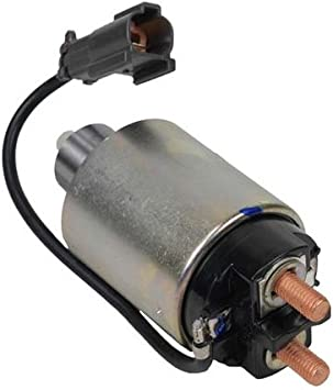 NEW STARTER SWITCH SOLENOID FOR MITSUBISHI UNITS FITS NISSAN D21 PICKUP 2.4L