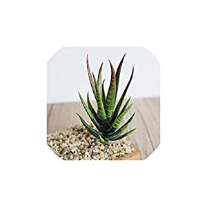 Artificial Succulent Plants Aloe Artificial Plants Landscape Fake Flower Arrangement Garden Decoration Accessories 50