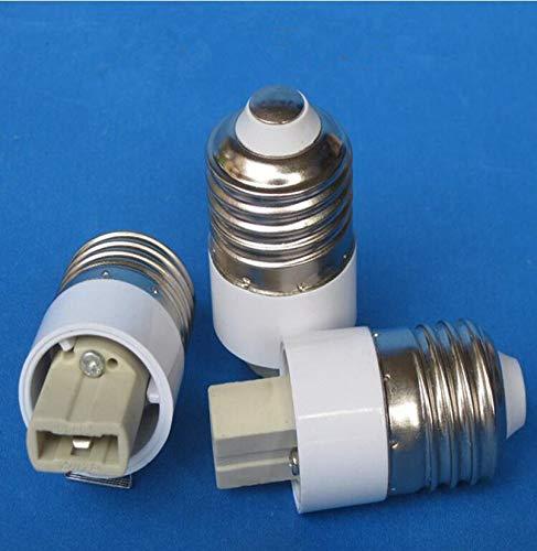 Halica E27 to G9 LED Lamp Holder Converter G9 Lamp Socket Base Adapter 20PCS