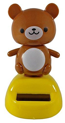 Japanese Quality Solar Powered Swinging Bear Bobblehead