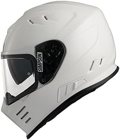 Matt Schwarz Gr/ö/ße L Simpson Helmet Venom 60-L