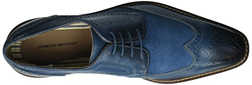 Giorgio Brutini Mens Roan Tuxedo Oxford Blue