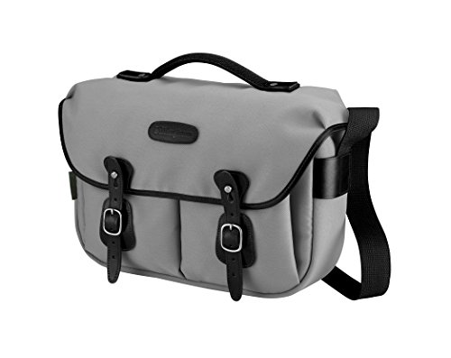 - Billingham Hadley Pro Shoulder Bag - Gray Canvas/Black Leather 505225-01