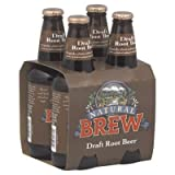 knudsen soda - Natural Brew, Draft Root Beer, 12 oz., package of 4