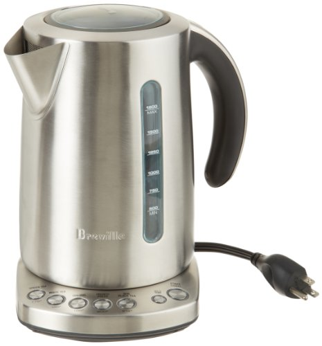 Breville Electric Tea Kettle ~ Breville rm bke xl certified remanufactured iq kettle