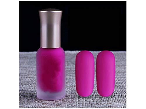 Junson Elegante 12 ML Esmalte de uñas de manicura Sellado a Base de Agua pulimentos Pasteles Mate (39#) para Mujeres