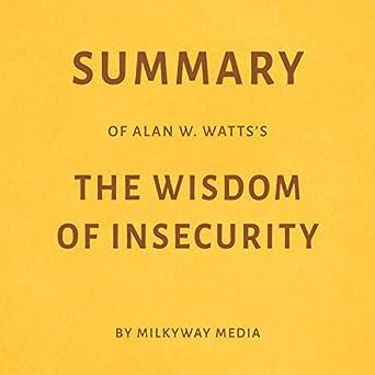 alan watts wisdom of insecurity audiobook