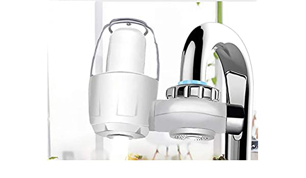 Filtro De Grifo De Cocina Lavable De Cerámica De Pared Purificador De Agua Eliminación De Óxido Purificación Agua Hogar-Filtro De Agua: Amazon.es: Hogar
