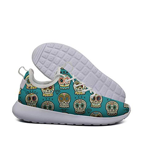Sneakers Mexican Womens Skull AKDJDS Day The Running Skull Shoe Dead Casual Shoes Day of Mexican zwBvxqanw7