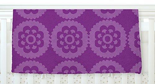 KESS InHouse Nicole Ketchum Moroccan Purple Fleece Baby Blanket 40 x 30 [並行輸入品]   B077YZWJTL
