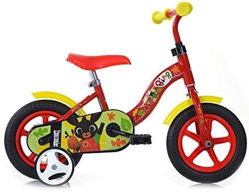 giordanoshop SMB251, fiets 10 inch Eva zonder rem Bing rood unisex kinderen, wit, maat #1.value