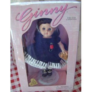 - Vogue Ginny Dolls 1996 'CONCERT PIANIST' w/ Ginny doll stand NEW Rare