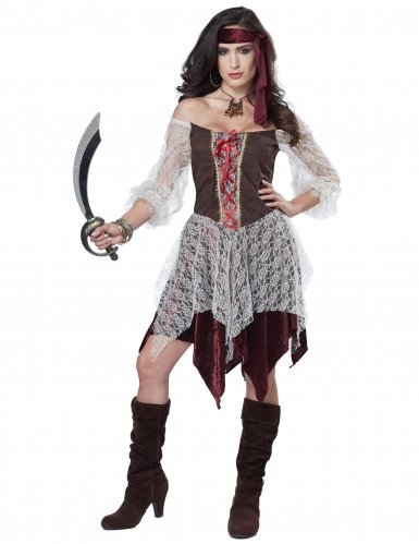 Adult Sexy South Seas Siren Costume -